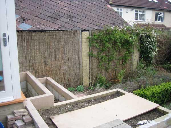 Chic Courtyard Garden, Oakwood - North Leeds Garden Design ...