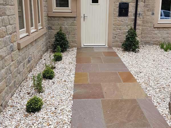 Elegant Gravel Garden, Menston - North Leeds Garden Design ...