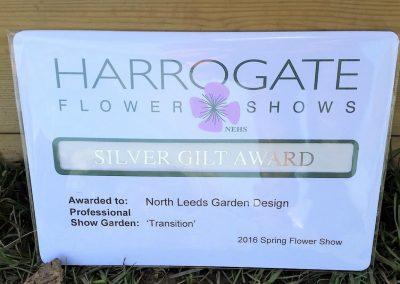 3. Harrogate Flower Show_2016_award